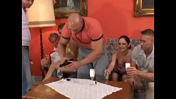 Playing spin the bottle became very exciting when participants agreed to strip and do dares