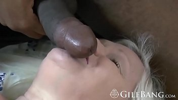 Glorious GILF welcomes a thick BBC in doggy style
