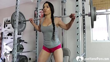 Strip sexily - Horny tia is working out very sexily