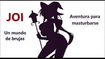 Semen sex cult hentai Joi - juego de rol. con voz española una sexy brujita quiere tu semen.