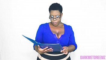 An Open Mouth Policy   Natural Ebony BBW