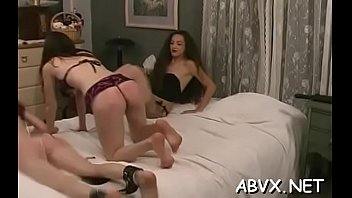Extreme tube sex movies - Naughty amateur video with gal enduring pussy stimulation