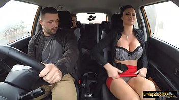 Car underwash and penetration Huge juggs jasmine jae double stuffed