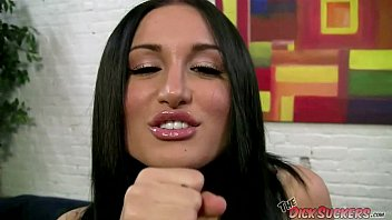 Brunnete cock suckers Gabi paltrova the dick sucker