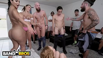 Hottest pornstar milf of all time Bangbros - porn casting surprise on fuck team 5 with krissy lynn, rose monroe, and valentina jewels