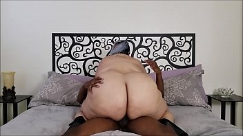 Cant feel his cock - Bbw rides bbc in heels