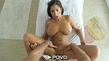 POVD - Stacy Jay's big rack wobbles when fucked...