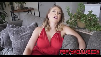 Cougar giving pov head and getting fucked by stepson