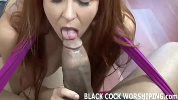His big black cock is really going to destroy my ass