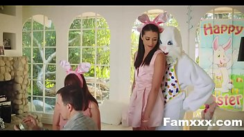Hot Teen Fucked By Easter Bunny uncle| Famxxx.com Thumb