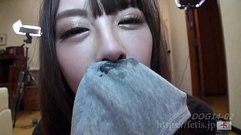 Dog Snuffling Daughter 9 No.02 Concourse smell of dick, sniff the phimosis !!(FETIS.JP)