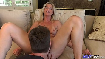 MILFTRIP Step Mom Welcomes Step Son Home With Wet Mouth thumbnail