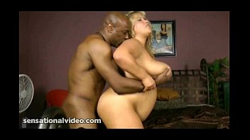 Busty BBW Blonde Kacey Parker Fucks Her First Black Cock