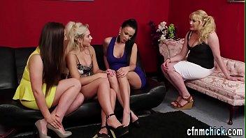 Brits glam dress spermed