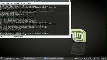 Running linux mint from thumb drice - Comandos segment 0 x264 x264