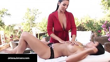 Full nude massage videos Leggy, jelena jensen frenchie, aria get the lesbo sex on