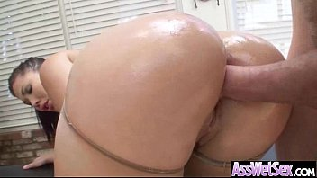 (london keyes) Round Oiled Ass Girl Nailed Hard In Her Behind video-22