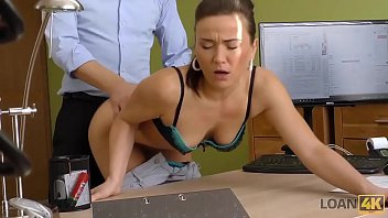 LOAN4K. Naughty Lassie Passes Special Porn Casting At Loan Agency