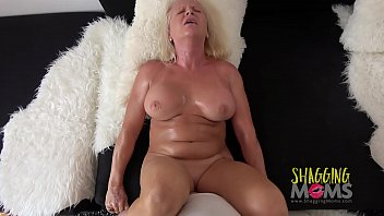 Heels dress mature - Naughty mature whore cums on a huge cock and loves it