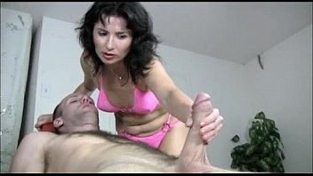 Mary crosby bikini - Naughty milf gives a handjob massage