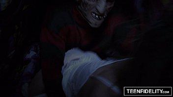 TEENFIDELITY Staci Silverstone'_s Nightmare on Teen Street