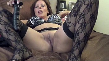 Nicky Ferrari - Hot MILF Black Stockings