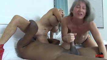 TWO WHORES and A BBC Sally D'angelo Leilani Lei