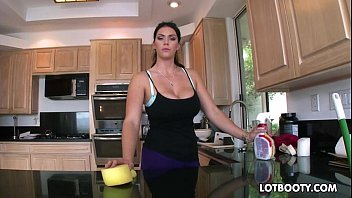 Busty bar maid - Big booty brunette busty maid alison tyler gets fucked