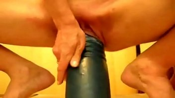 Incredible size dildo