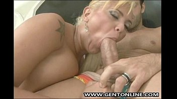 Brazillian Blondes Milf Gets Anal Fucked