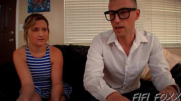 Brother Forces Sister To Fuck Him Using Remote Control - Fifi Foxx