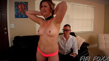 Bdsm remote shock Brother forces sister to fuck him using remote control - fifi foxx