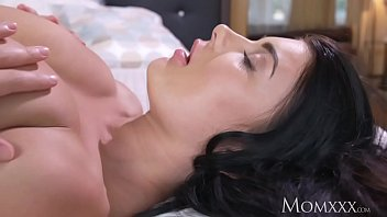 Natural tit women - Mom big natural tits babe face sitting on older woman