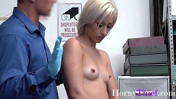 Blonde Teen Hottie Stuffs Things Up Her Ass- Goldie Glock