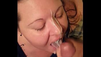 Prostitute facial - Bbw shay tiffany cumshot facialized swallows