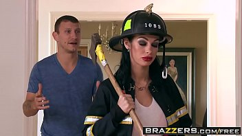 Brazzers - Shes Gonna Squirt - Putting Out The Fire scene starring Angelina Valentine and Mr. Pete