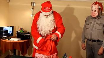 Christmas story Spanking