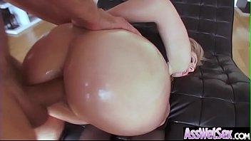 Hard Anal Sex Scene With Oiled Sluty Big Ass Girl (Dahlia Sky) video-16