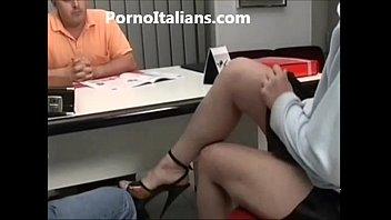 Milf italiana scopata in ufficio - italian milf fucking the office