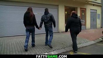 Huge boobs fat girl seduces married man