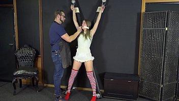 Damsels in distress bondage videos Teen christmas elf punished in bondage ep 2