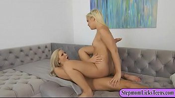 Nina Elle and Cleo Vixen steamy lesbosex