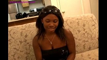 Hot black girl shaved pussy with big tits