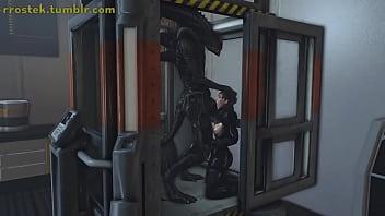 Aliens fucking 3D sexy females Vorschaubild