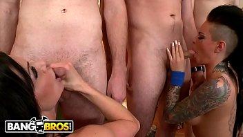 BANGBROS - Nikki Delano, Christy Mack, & Kendra Lust Invade College Dorm