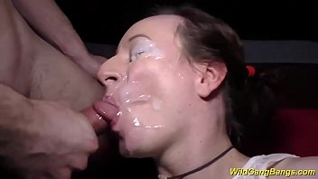 her first extreme anal gangbang orgy | Video Make Love