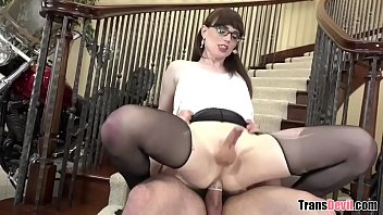 Feminine TS babe Natalie Mars