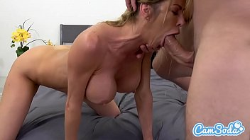 Alexis Fawx big tits hot sexy MILF fucking young ripped stud. Thumb