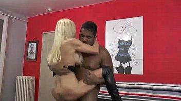 A beautiful blonde milf loves big black cock