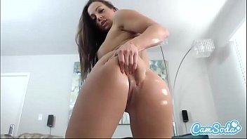 Mac webcam sex - Abigail mac big ass brunette fucking two dildos.